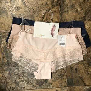 Jessica Simpson Hipster 3 pack Panties
